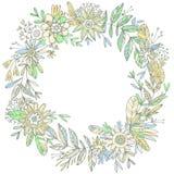 Corona floreale splendida Immagine Stock Libera da Diritti