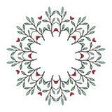 Corona floreale tribale Immagine Stock
