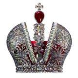 Corona grande imperial stock de ilustración