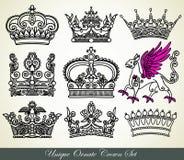 Corona heráldica Fotografía de archivo libre de regalías