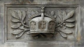 Corona imperial alemana. Fotografía de archivo libre de regalías