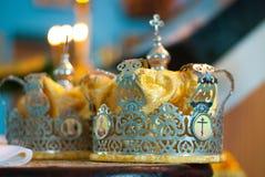 Corona las bodas Fotos de archivo