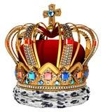 Corona real Imagenes de archivo