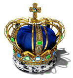 Corona real imagen de archivo