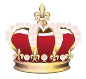 Corona real. Fotos de archivo