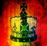 Corona real Foto de archivo libre de regalías