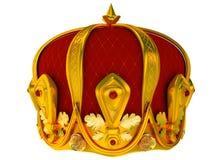 Corona reale dell'oro illustrazione vettoriale