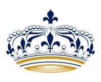 Corona retra del rey Fotos de archivo libres de regalías