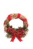 Corona rotonda del nuovo anno Immagini Stock Libere da Diritti