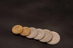 Corona sueca de las monedas Imágenes de archivo libres de regalías