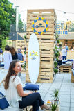 Corona Sunsets Session party in Zagreb, Croatia Stock Photography