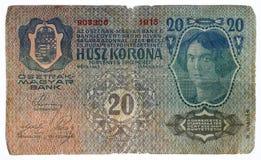 Corona svedese di Husz Immagine Stock Libera da Diritti