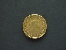 10 corona svedese & x28; SEK& x29; moneta Fotografia Stock