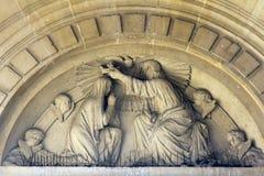 Coronación de la Virgen María Fotos de archivo libres de regalías