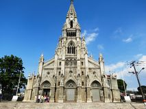 Coronada kyrka Costa Rica royaltyfria bilder