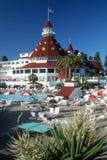 旅馆Coronado,圣迭戈,加州 免版税库存图片