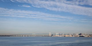 Coronado Bay Bridge, San Diego Stock Photos