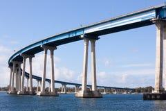 Coronado Bridge in San Diego.  royalty free stock photos