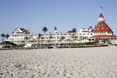coronado de hotel βικτοριανό Στοκ Εικόνες