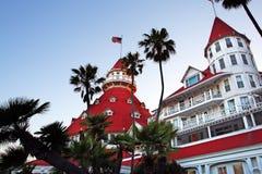 coronado del地亚哥旅馆圣美国 免版税库存照片