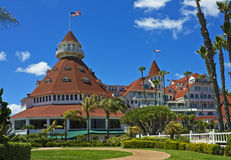 coronado del historyczny hotel Obrazy Royalty Free