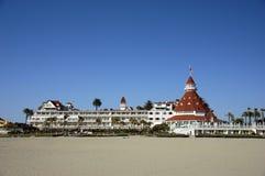 coronado del hotell Royaltyfri Bild