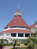 coronado del hotell Royaltyfri Foto