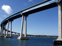 coronado Diego SAN γεφυρών Στοκ εικόνα με δικαίωμα ελεύθερης χρήσης