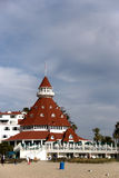 coronado hotel obrazy stock