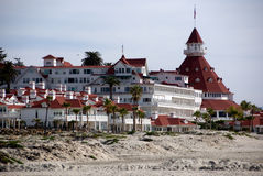 Coronado Hotel lizenzfreie stockfotografie