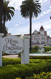 Coronado Hotel Royalty Free Stock Images