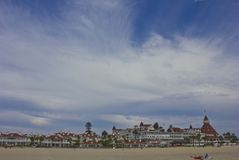 Coronado Hotel Royalty Free Stock Photography
