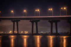 Coronado Light Trails Royalty Free Stock Photo