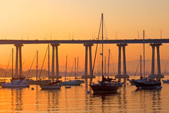 Coronado Sailboats at Rest Stock Photography