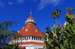 Hotel del Coronado on Coronado Island stock image