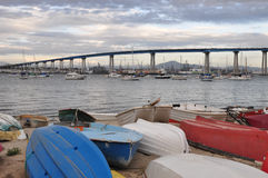 Coronado Schacht-Brücke stockbild