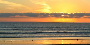 Coronado Sonnenuntergang Lizenzfreie Stockbilder