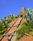 Coronado Springs Resort. Close-up of the Mayan Pyramid at the Pool Royalty Free Stock Images