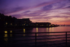 Coronado sunset Stock Images