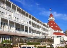 coronadodeldiego hotell san Royaltyfria Foton