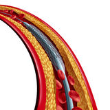 Coronary Stent Placement Isolated Stock Photo