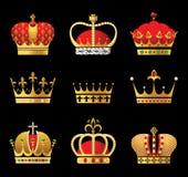 Coronas Imagenes de archivo
