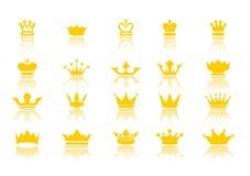 Coronas Foto de archivo