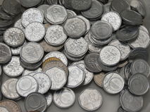 Coronas checas de monedas Foto de archivo libre de regalías