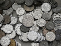 Coronas checas de monedas Fotos de archivo libres de regalías