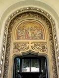 Coronation μωσαϊκό εισόδων καθεδρικών ναών, Alba Iulia, Ρουμανία Στοκ Φωτογραφίες