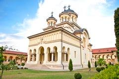 The Coronation Archbishop Cathedral, Alba Iulia, Romania. The Coronation Archbishop Cathedral in Alba Iulia, Romania Stock Photos
