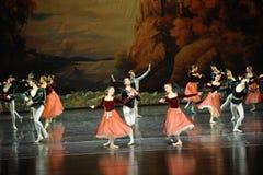 The coronation-ballet Swan Lake Royalty Free Stock Photography