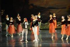 Coronation-ballet Swan Lake Royalty Free Stock Photography