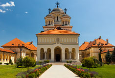 Coronation Cathedral in Alba Iulia, Romania Stock Photography
